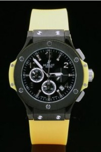hublot-black-surface-yellow-bracelet-women-watches-hb2645-99